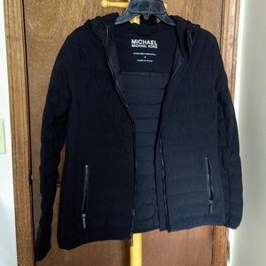 Micheal Kors Black Women's down jacket